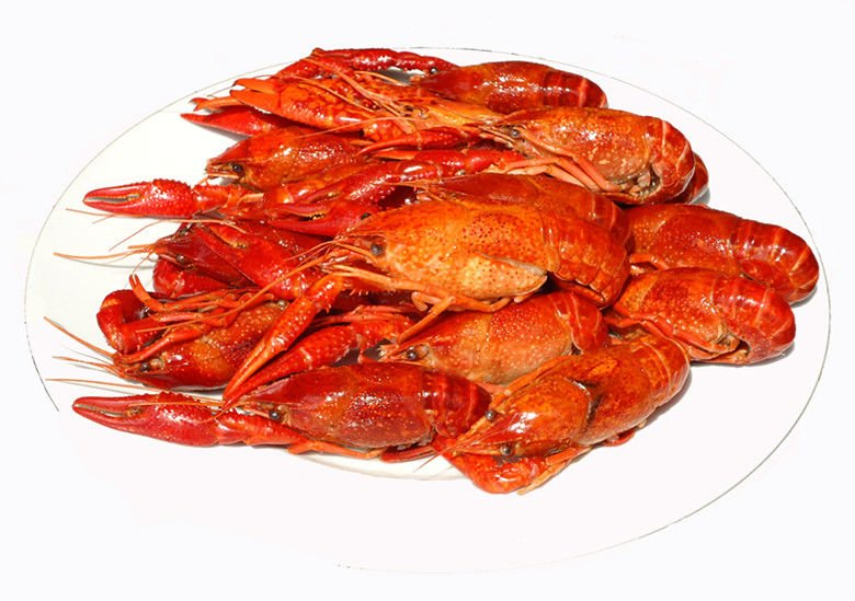 Frozen cooked whole crawfish