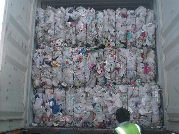 HDPE NATURAL MILK BOTTLES SCRAP