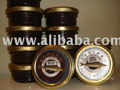 Russian Caspian Black Sturgeon Caviar