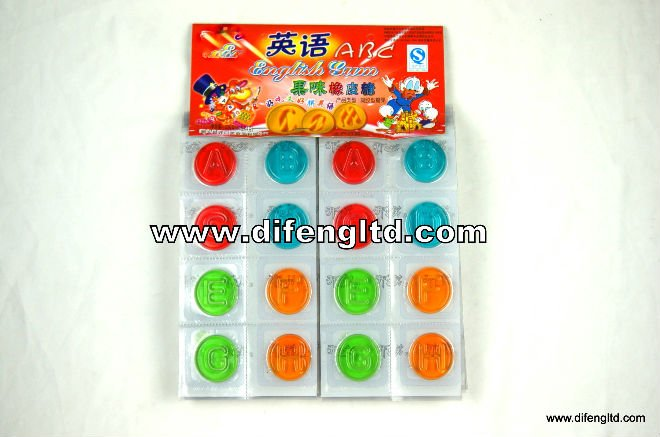 Difeng Jelly Candy (shape like a English letter)