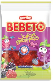 BEBETO 40g Juice Berries Jelly Gum