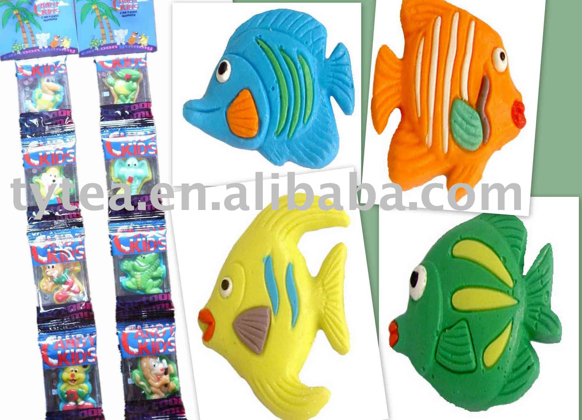 High quality gummy candy products china high quality gummy for Gummy fish candy