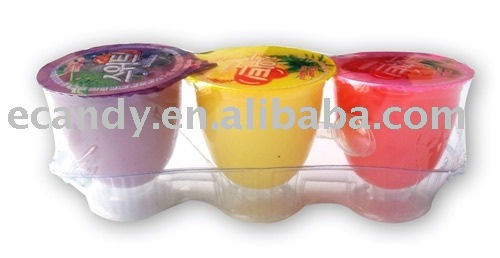 Cup jelly,Jelly,Fruit jelly