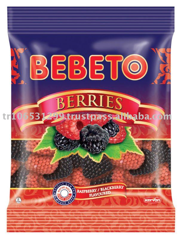 BEBETO 80g Berries Jelly Gum