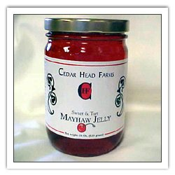 One 16 oz. Mayhaw Jelly
