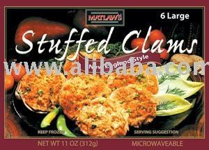 Stuffed Clams  RETAIL BOX