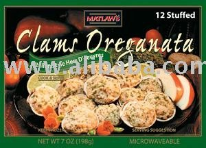 Clams Oreganata RETAIL BOX