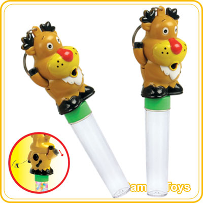 Christmas deer viewer candy toy