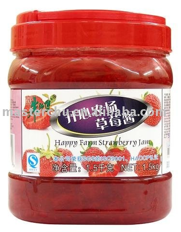 Happy Farm Strawberry Jam