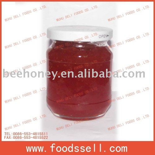 strawberry jam(confiture de fraises)
