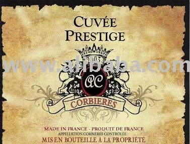 Cuvee Prestige a superb Vin de Pays Red Wine