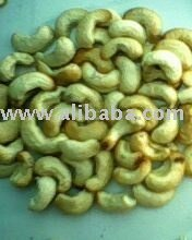 raw cashew nuts and sesame seeds and ginger