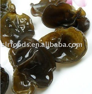 Dried black fungus/ear mushroom
