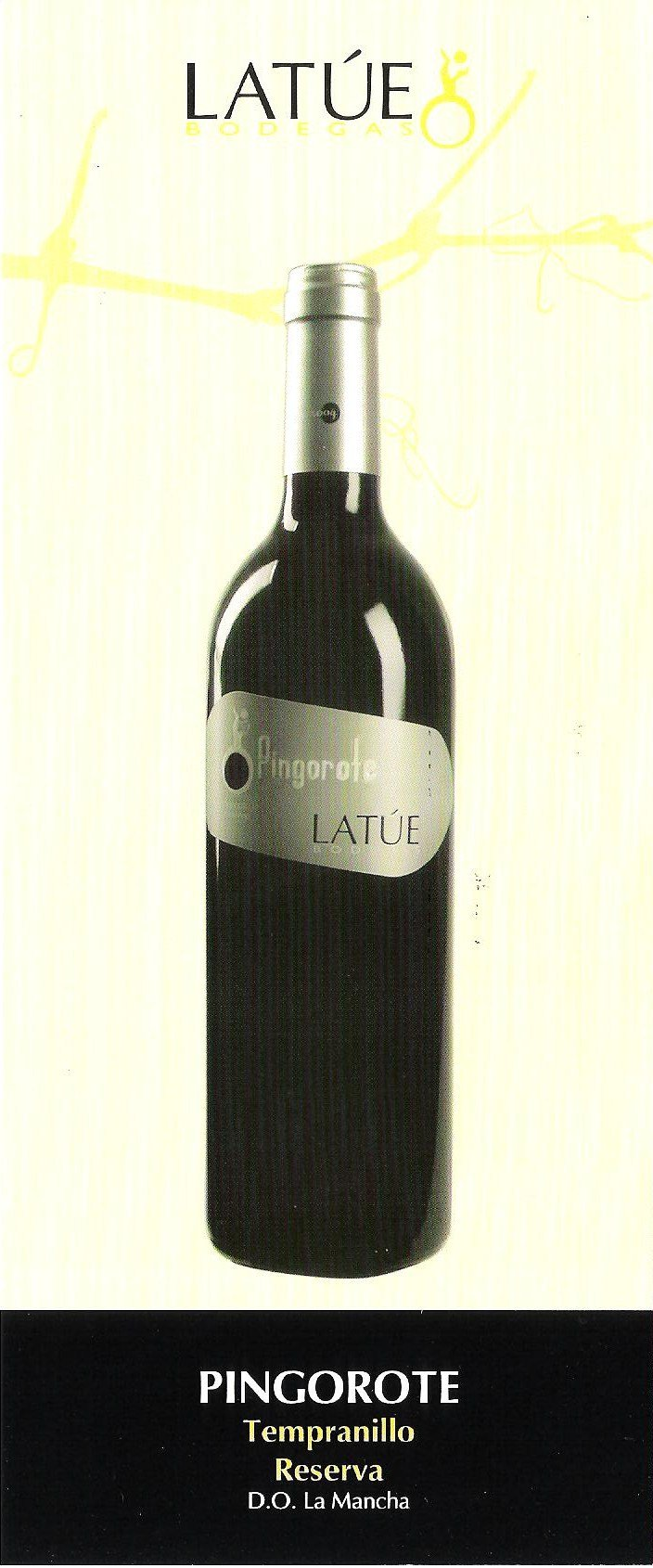 PINGOROTE TEMPRANILLO RESERVA (Red wine)