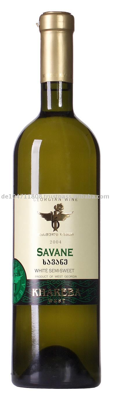 SAVANE Semi Dry White wine