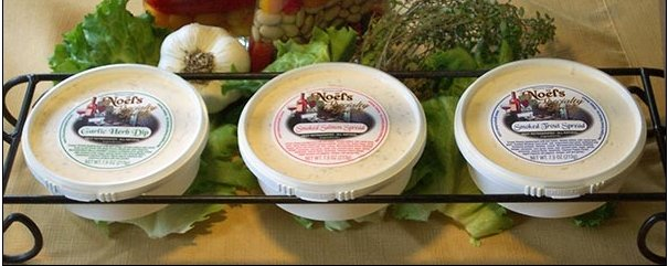 Noel's Cream Cheese Spreads