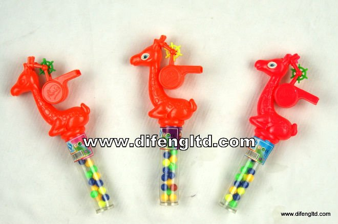 Difeng Sika Deer Whistle with Candy