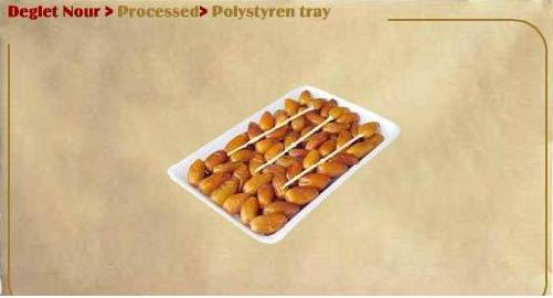 Polystyren Tray Of Processed Dates