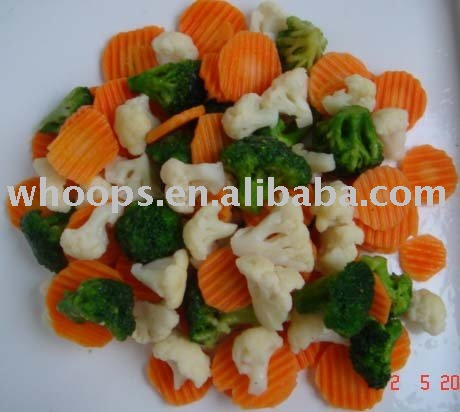 New Crop IQF Mixed vegetables