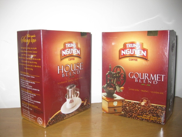 Trung Nguyen - House Blend &amp; Gourmet Blend Coffee