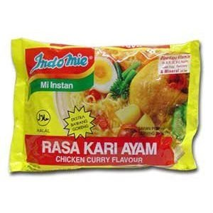 Indomie Instant Noodles Soup Chicken Curry Flavor