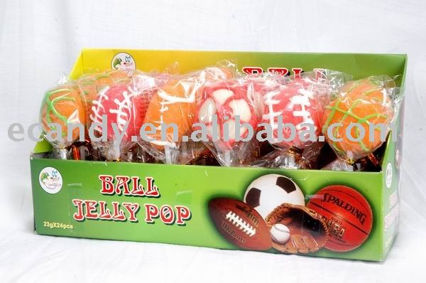 Jelly candy,jelly lollipop,soft jelly candy