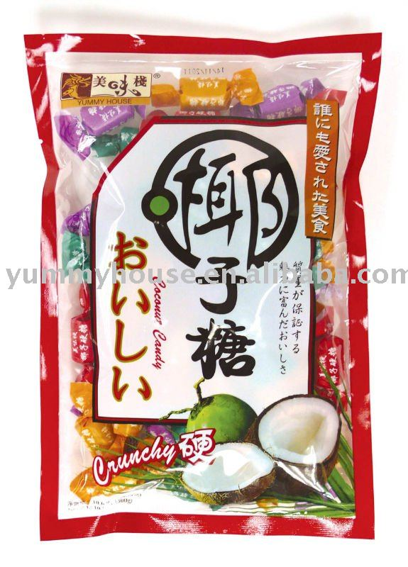 Yummy House Coconut Candy (Crunchy)