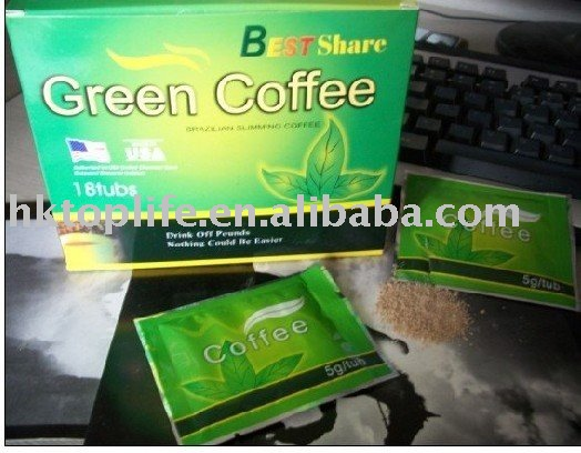 Best Share Green Coffee Healthy  and Fast Slimming Coffee(TP18)