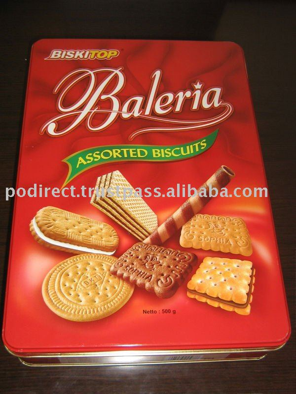 Assorted Biscuits Cookies Crackers Snacks