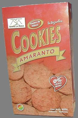 Galletas De Amaranto cookies
