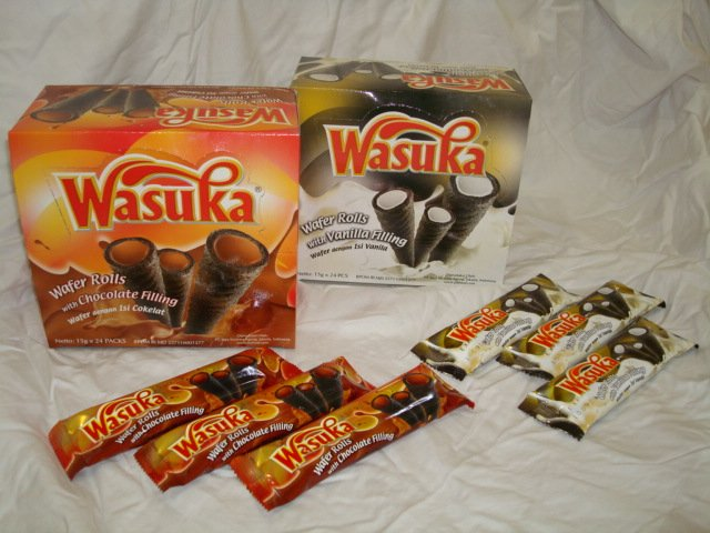 Wasuka wafer roll