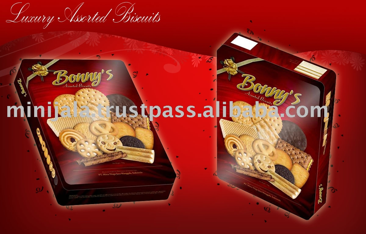 Bonny`s Assorted Biscuit And Cookies (New)