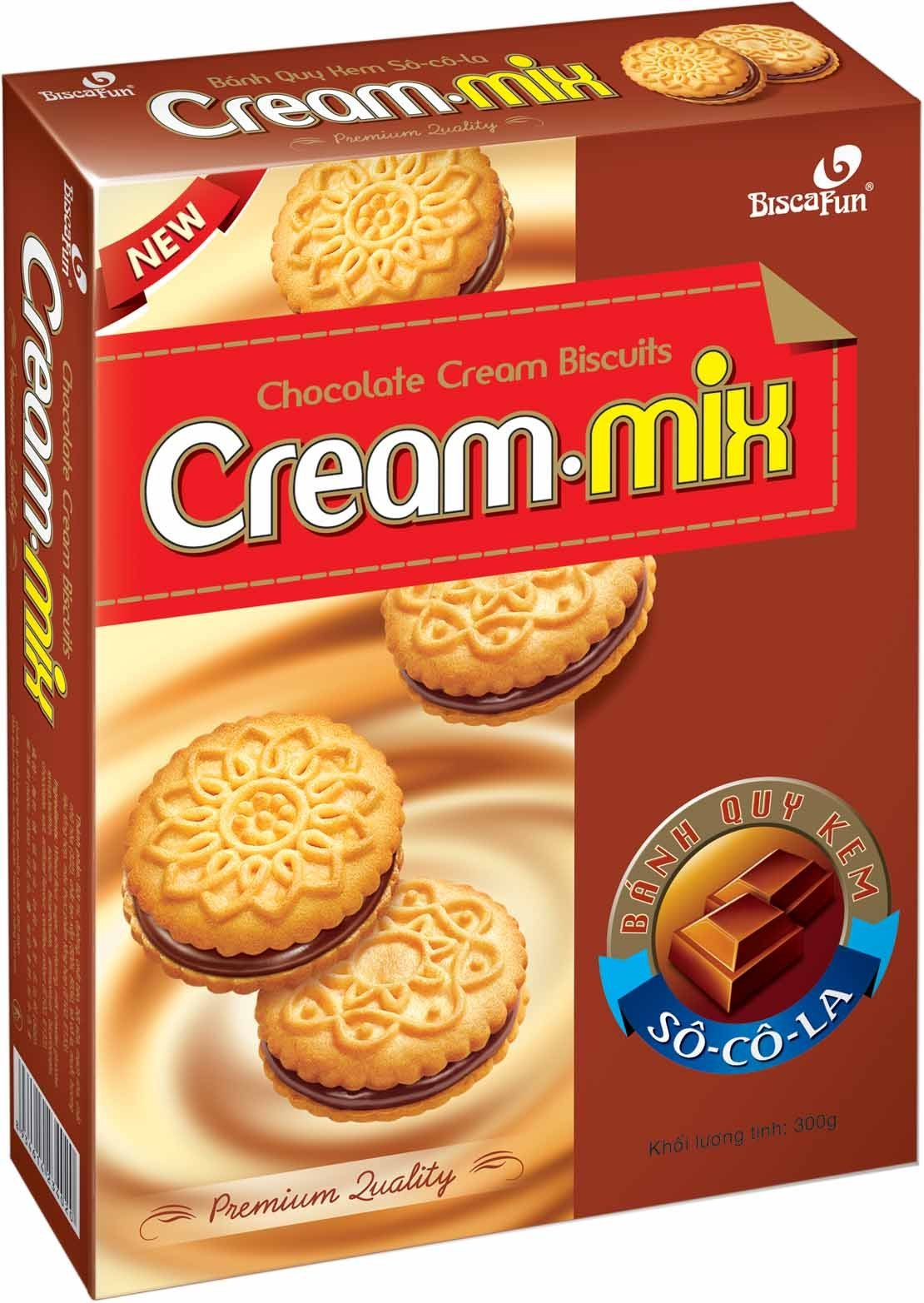 Cream-mix Cream Biscuits