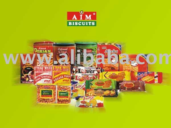 AIM Biscuit Wafer, Assorted & Creamy