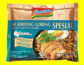 Indomie Mie Keriting Goreng Special (Special Curly Fried Noodle)