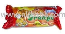 Amulya Orange Cream Biscuits