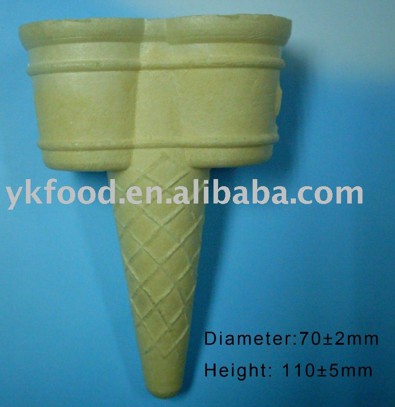 Double head wafer cone