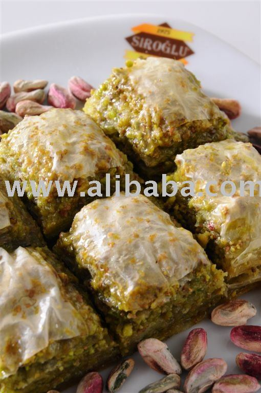 BAKLAVA with pistachio Layer in Layer