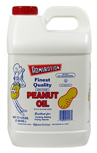 7.5 lb. Admiration 100% Peanut Oil 2/CS