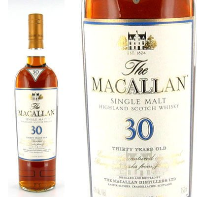 Macallan 30yr Single Malt Scotch Whisky 750ML