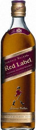 Johnnie Walker Scotch Red Label 1L