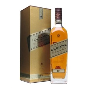 Johnnie Walker Scotch Gold Label 18year 750ML