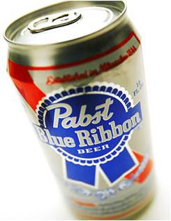 Pabst Blue Ribbon American Beer