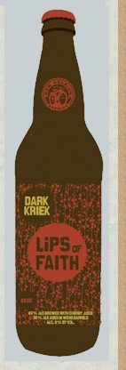 beer: Dark Kriek