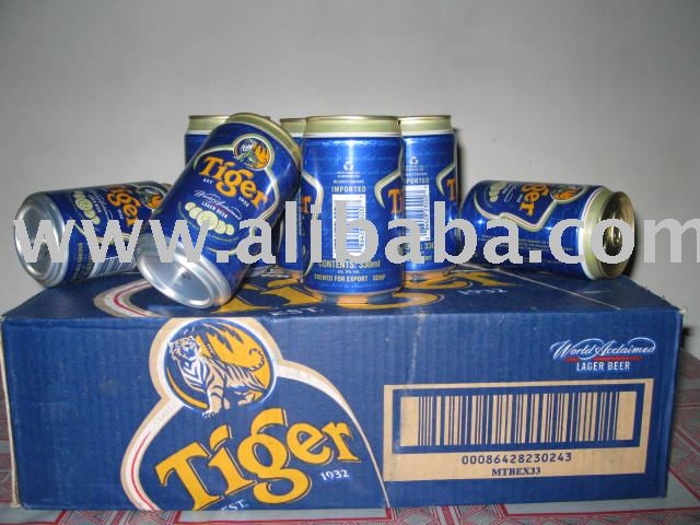 330ml Tiger Beer can