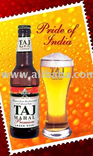 Taj Mahal Premium Lager Bottle 330 Ml Bottle Beer