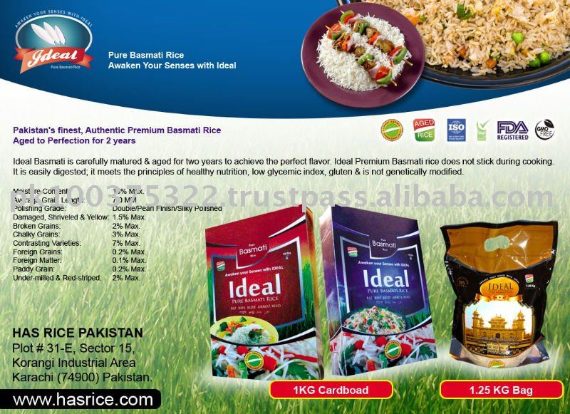 IDEAL BASMATI RICE FOR HONG KONG