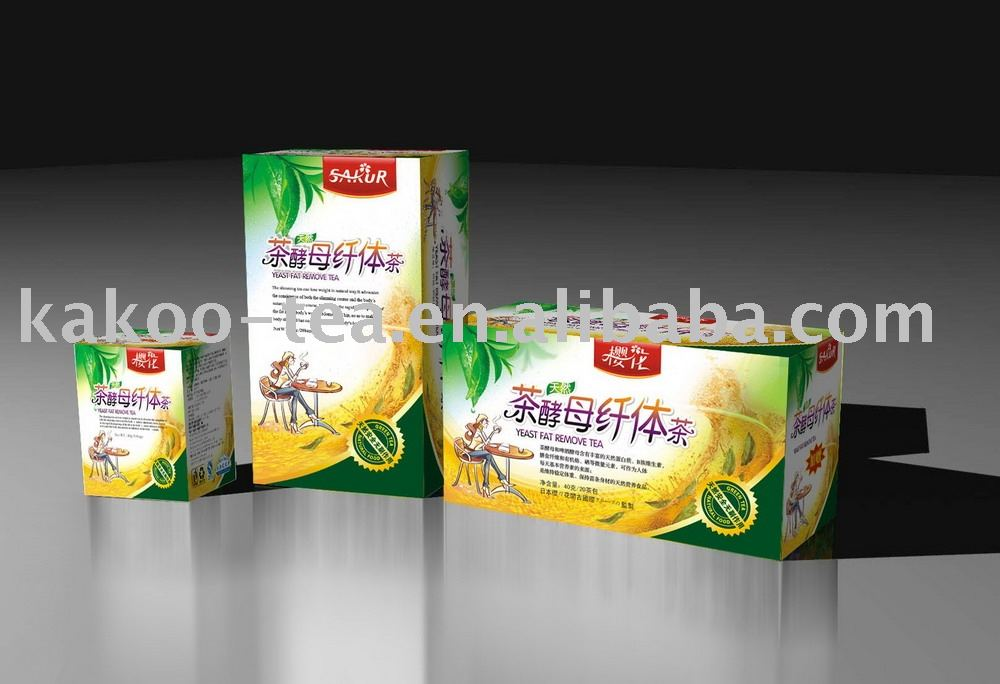 herb Yeast fat remove tea