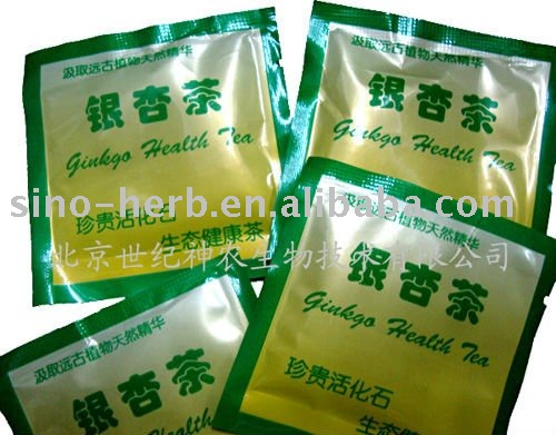 Ginko Tea for Reduceing High Blood Pressure