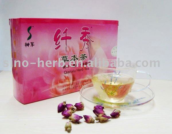 Fragrant qianxiu  slimming  herb  tea--Dissolve the fat